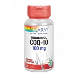 CoQ10 UBIQUINOL 100mg. 30perlas (SOLARAY)